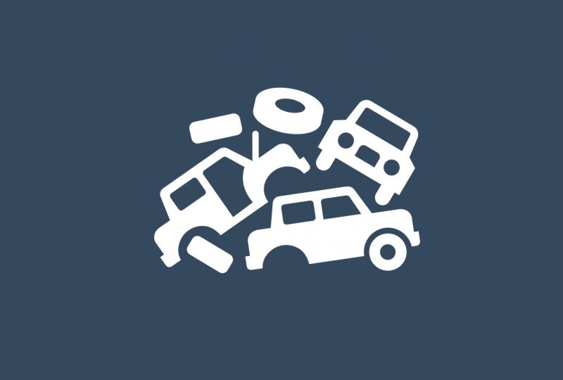 Wreck yard - Northampton Vehicle Dismantlers