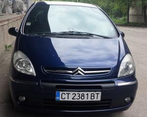 Citroën - Xsara Picasso - Ван | 27 Aug 2017