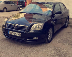 Toyota - Avensis - T25 | 28 Oct 2018