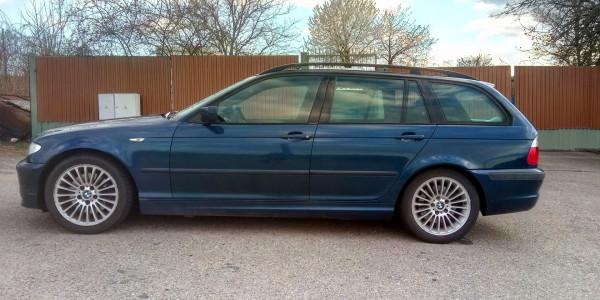 BMW 3er 330d Touring Mysticblau
