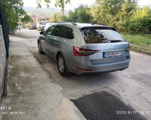 Škoda - Superb - 2.0 TDI  4x4 DSG   17.08.2020 г.