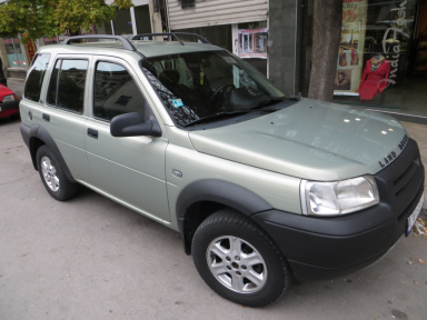 Land Rover - Freelander | 31 Aug 2013