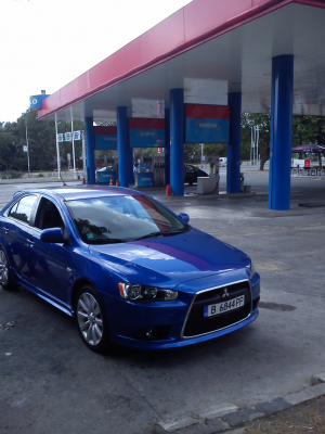 Mitsubishi - Lancer - Sportback   12 Sep 2013