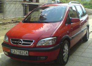 Opel - Zafira - 2.2 DTI Executive   17 Aug 2014