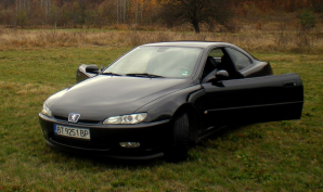 "Peugeot - 406 - Coupe ""Silver & Black - Special Limited edition"" 