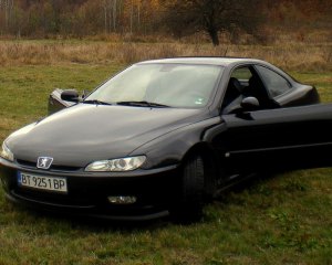 """Peugeot - 406 - Coupe """"Black & Silver - Special Limited edition"""" 