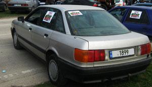 Audi - 80 - 1.8S | 23.06.2013 г.