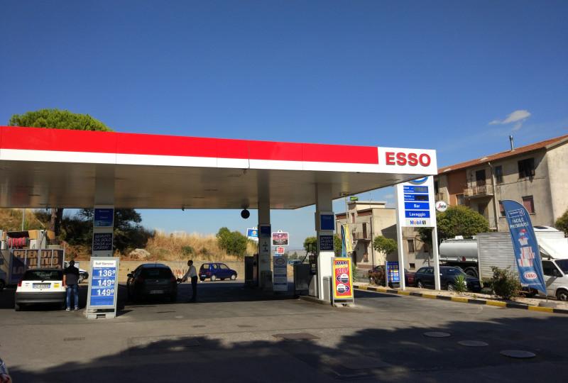 Filling station - ESSO