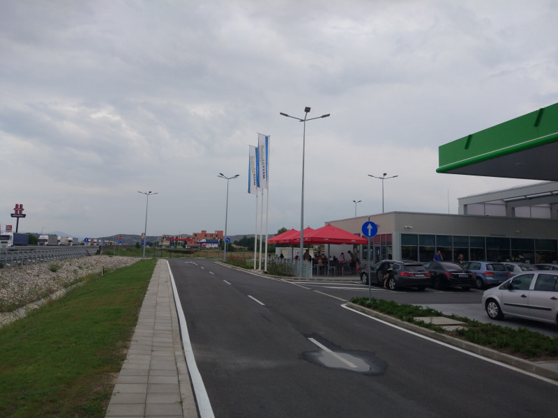 Filling station - OMV - Автомагистрала Струма km 166+500