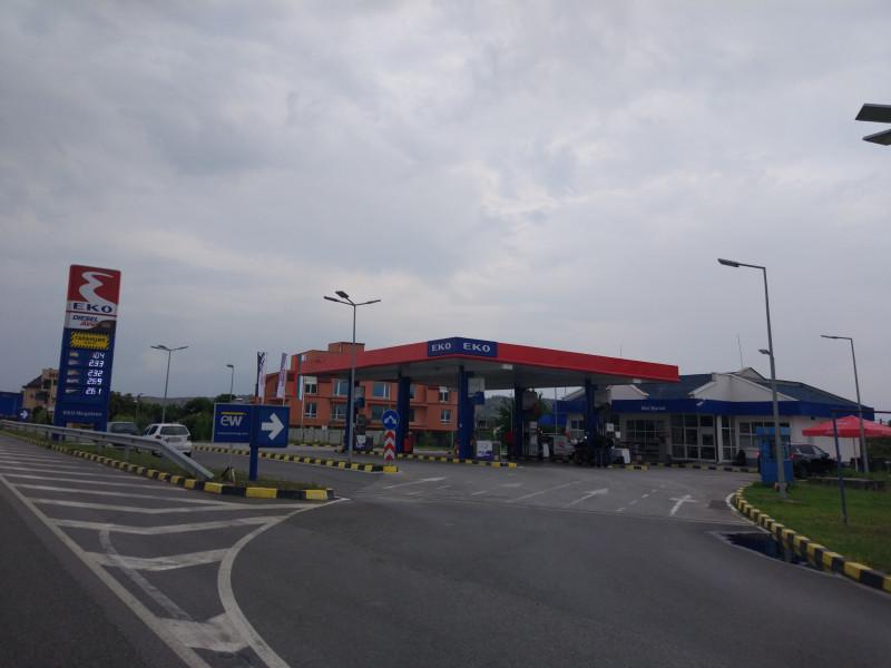 Filling station - EKO - Кулата