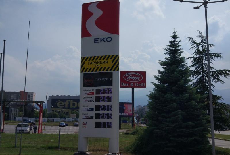 Üzemanyagtöltő állomás - EKO - Младост 1
