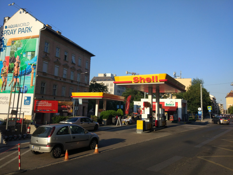 Filling station - Shell - CSALOGÁNY U.