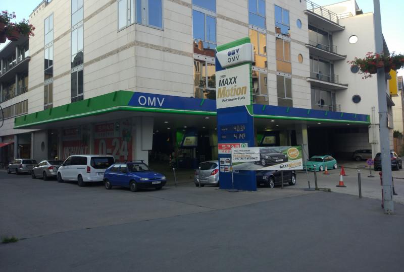 Üzemanyagtöltő állomás - OMV - Tölgyfa u. 1-3