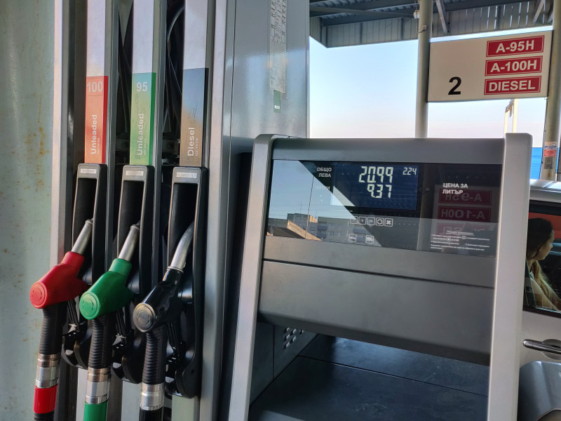 Filling station - VM Petroleum -  Sofia