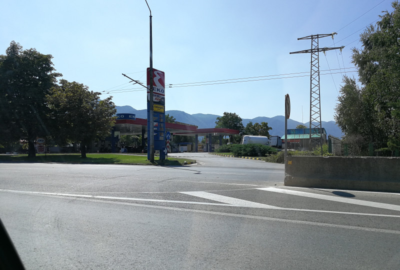 Üzemanyagtöltő állomás - EKO