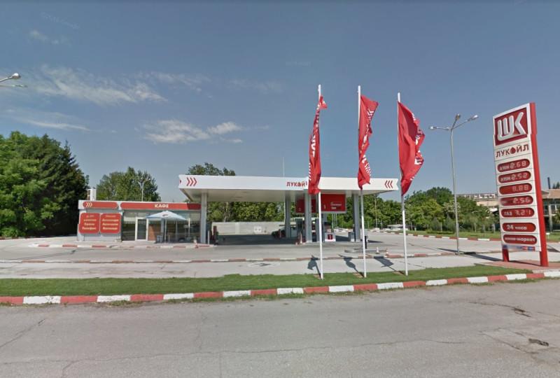 Filling station - Lukoil - Б 110 Белене