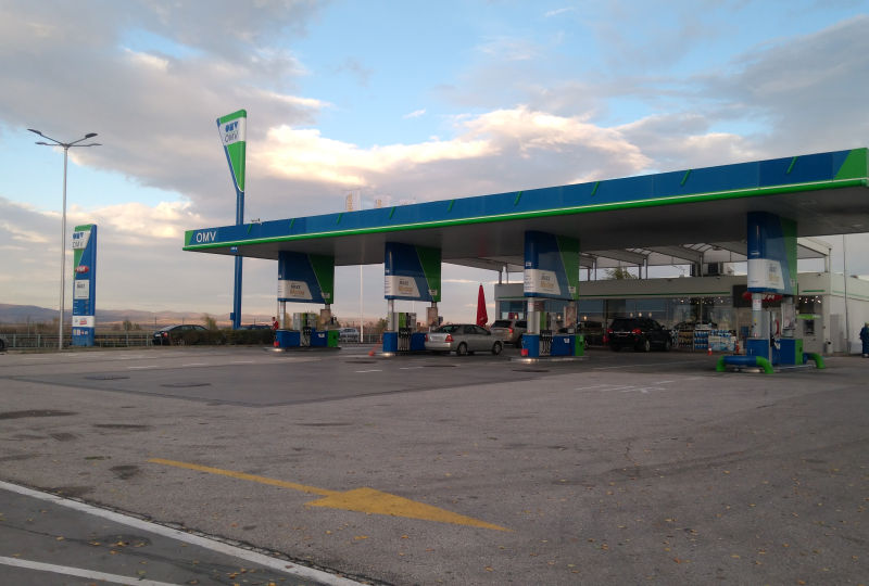 Filling station - OMV - Trakia Motorway