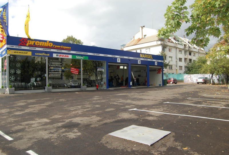 Tyre shop - Маргел-М ЕООД - Margel-M
