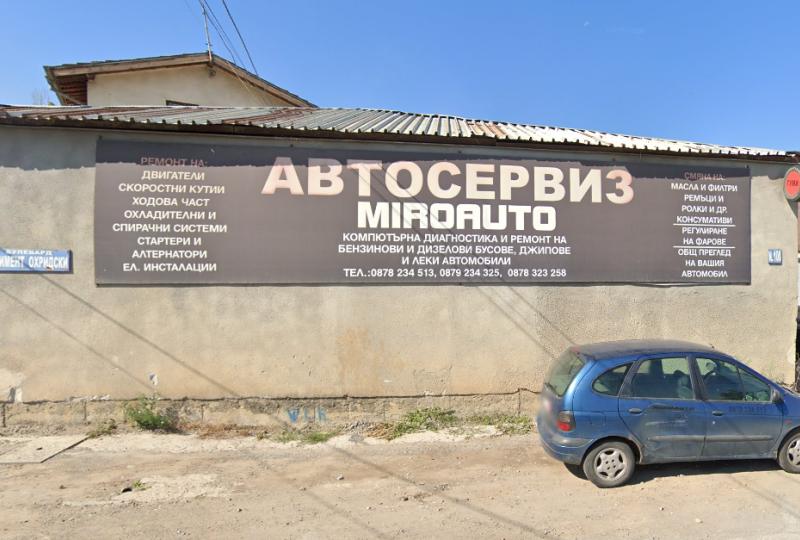 Repair shop - Miro Auto